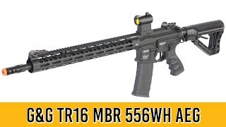G&G TR16 MBR 556WH M4 Airsoft Gun   Quick Review