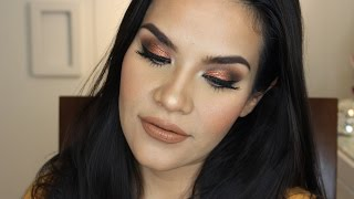 Maquillaje Cobrizo /Copper Makeup | Mytzi Cervantes