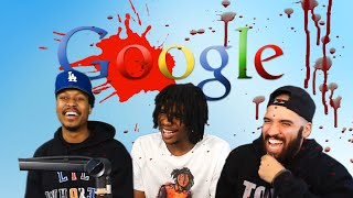 YOU GUYS REALLY SENT THESE...….. | LETS GOOGLE | ft Berleezy, Rico The Giant