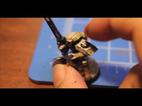 How to Paint Tau Fire Warrior