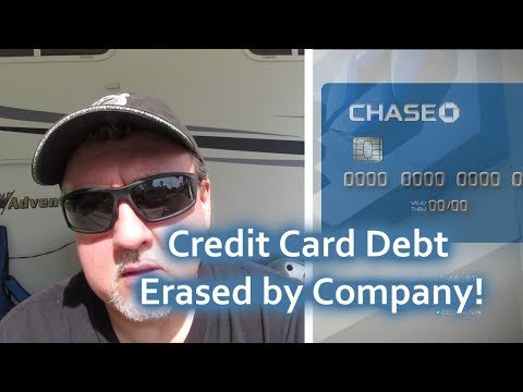Credit Card Debt Erased By Chase Bank