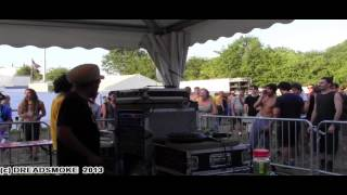 BLACKBOARD JUNGLE SOUNDSYSTEM  - steppa people ina stepper style @ dub corner pt3 \ dour 20-07 2013