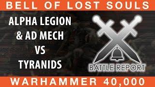 BoLS Battle Report #211 | 30k Alpha Legion & Ad Mech vs Tyranids