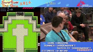 Summer Games Done Quick 2014 - Part 74 - Anodyne