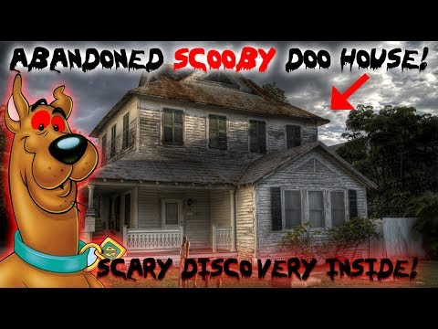 ABANDONED SCOOBY DOO HOUSE! FOUND SOMETHING INSIDE! 24 HOUR OVER DAY CHALLENGE!