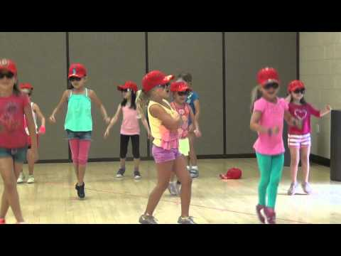Holly and Marena performing 'Let's Go' at PopStar Camp (July, 2013)