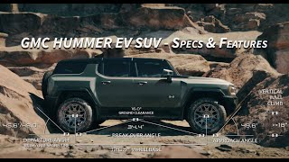 GMC HUMMER EV SUV Walkthrough - Features, Capabilities, Specs, & Details