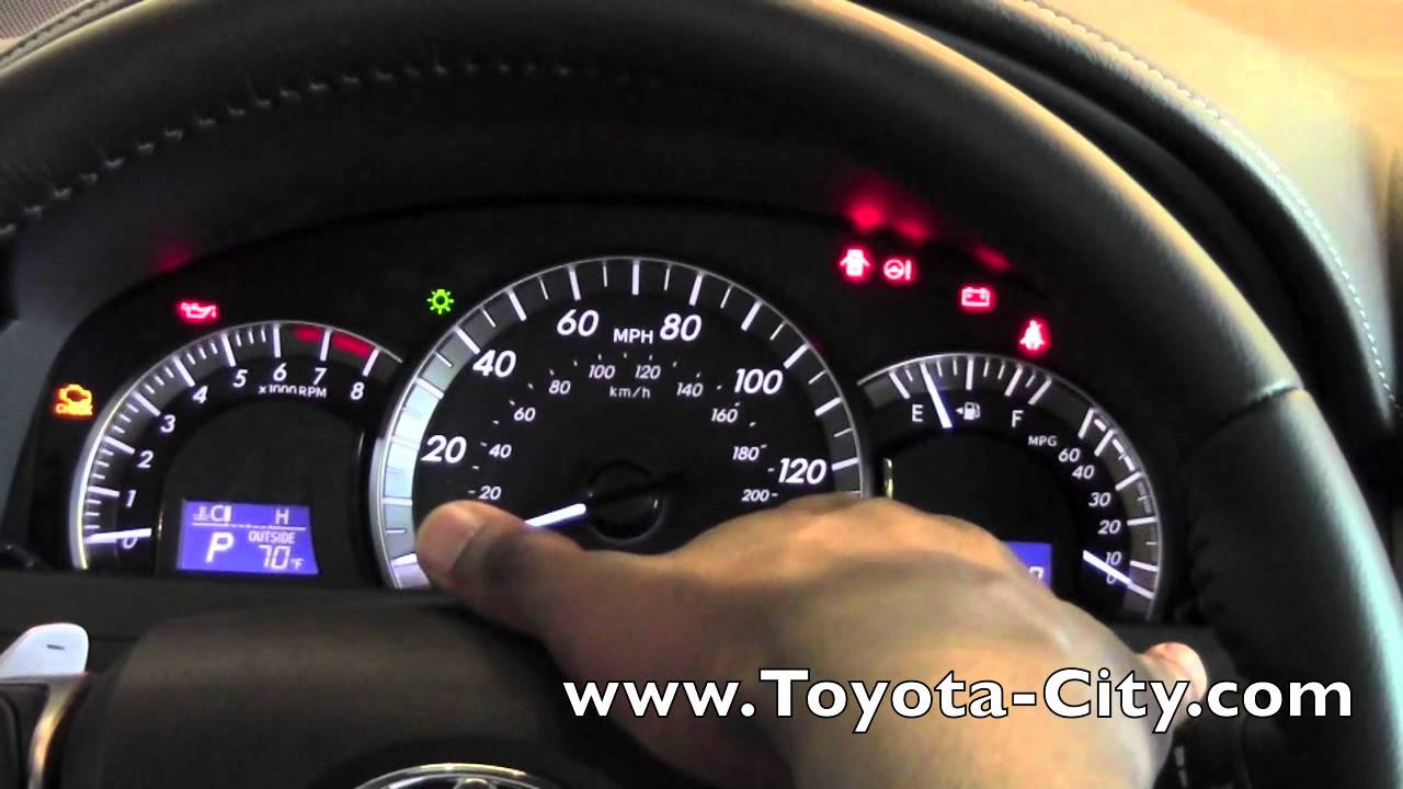 2012 Toyota Camry Gauges How To By Toyota City Minneapolis Mn Youtube