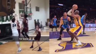 8 MINUTES OF BASKETBALL VINES 2020 (KOBE!!)