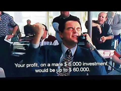 Wolf of Wall Street - The Phone Script That Made Millions