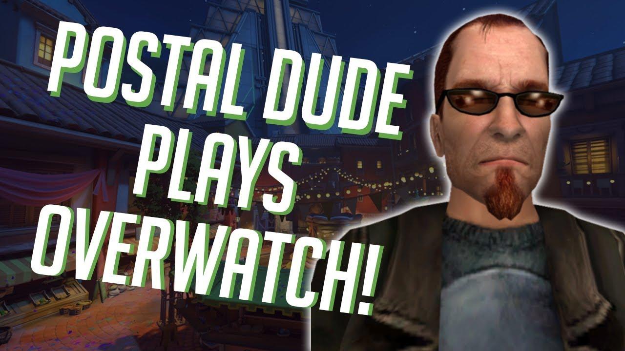 Postal Dude Plays Overwatch Soundboard Pranks In Overwatch Youtube