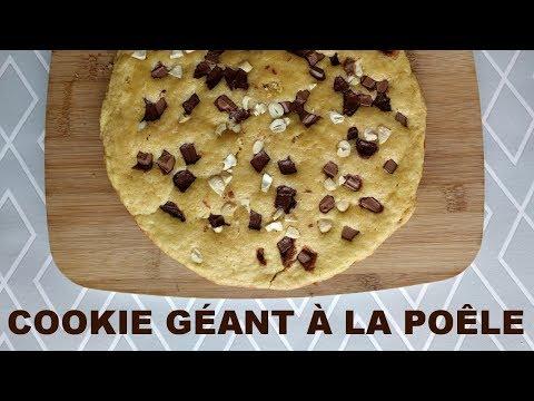 le-cookie-géant-à-la-poêle-!!!