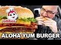 Jollibee Aloha Yum Burger & Peach Mango Pie Food Review