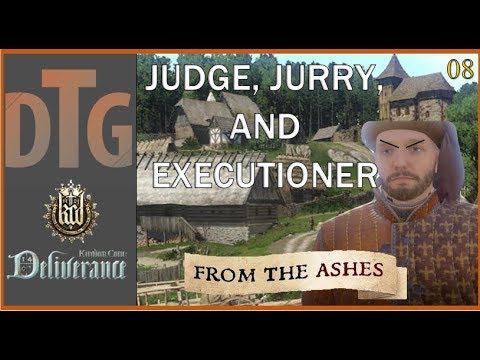 Kingdom Come Deliverance: From the Ashes Part 08 | Putting Villagers to Death |