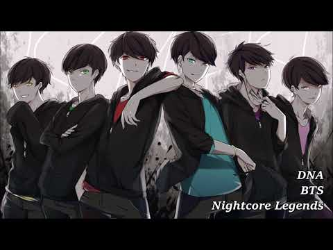 [Nightcore] BTS (방탄소년단) - DNA