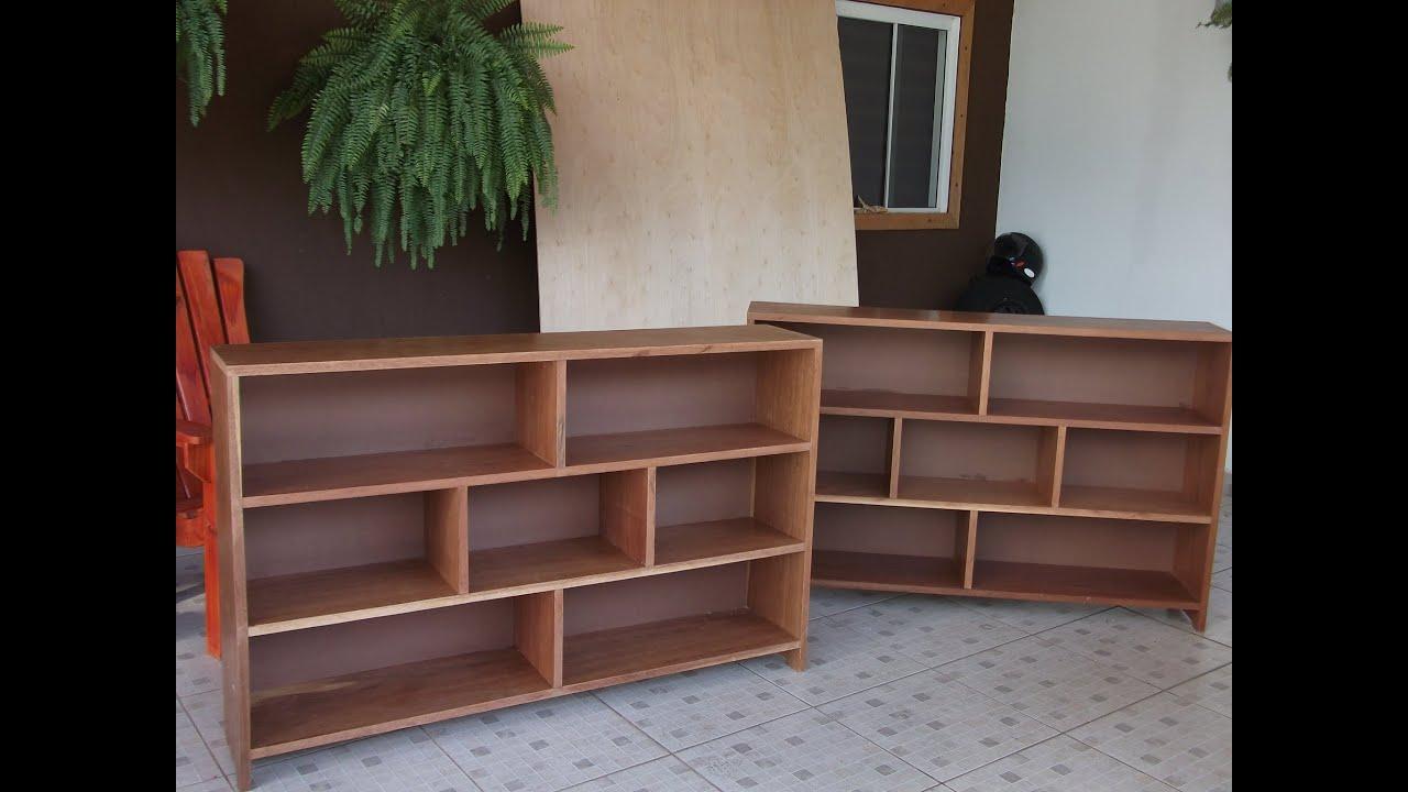 Estante para livros youtube - Estantes para pared ...