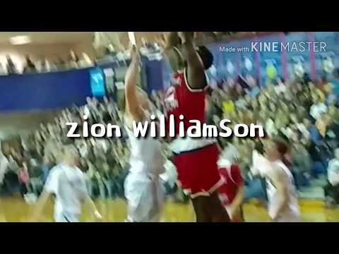 Zion Williamson Highlights 2-03-2017 vs Spartanburg Christian Academy