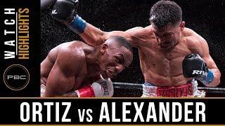 Ortiz vs Alexander HIGHLIGHTS: PBC on F...