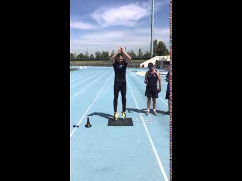 PTS Vertical Leap Test with Digital Jump Mat