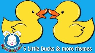 5 little ducks kids songs & more Nursery Rhymes & Kid Songs