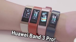 Huawei Band 3 Pro: Best Side-Kick for Your Daily Life