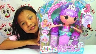 Lalaloopsy Bubbly Mermaid Doll Ocean Seabreeze and Pet