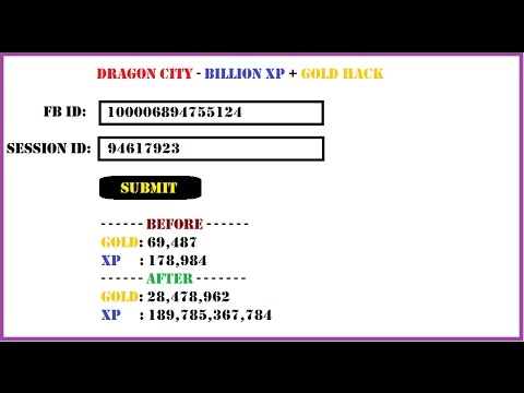 Hack De Billion xp+ gold dragon city