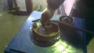 Самодельный станок для кованых изделий(самодельный кузнечный станок., 2013-12-22T19:03:14.000Z)