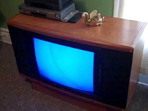 1991 Zenith Console Television - YouTube