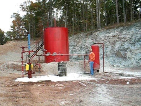 big oil   gas well separator test demonstration youtube