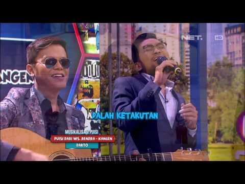 Musikalisasi Puisi Danilla Riyadi Bikin Hati Danang Darto Adem (3/4)