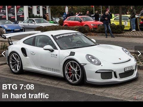 7:08 BTG In Traffic At Nordschleife