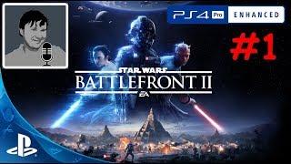 Star Wars™ Battlefront™ II PS4 Pro прохождение сюжетки #1