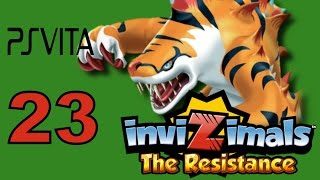 Invizimals - The Resistance - PS Vita Let's Play Walkthrough Part 23 - Tigershark Special!