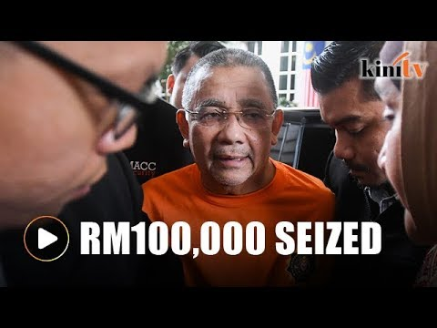 MACC seizes RM100,000 from Isa's house