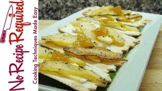 Apple And Brie Hors D'oeuvres - Noreciperequired.com