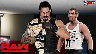 WWE 2K17 Custom Story - The Shield Brings WWE Championship Back Raw 2017 ft. Goldberg, Lesnar -EP 20