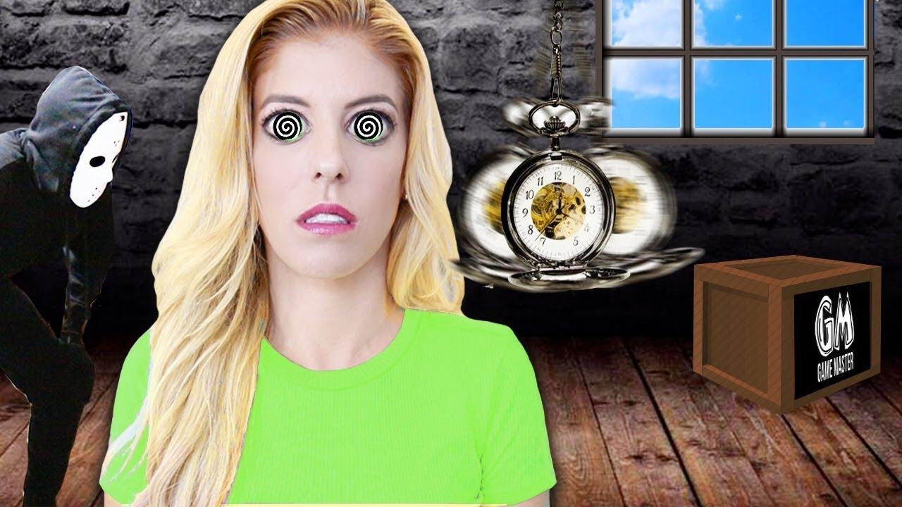 REBECCA ZAMOLO Hypnotized By GAME MASTER! (Top Secret Surveillance Footage Found Code 10)