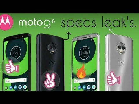 moto g6 specs leaks in india 2018 by tech advert.