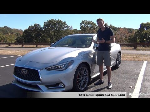Review: 2017 Infiniti Q60S Red Sport 400 AWD