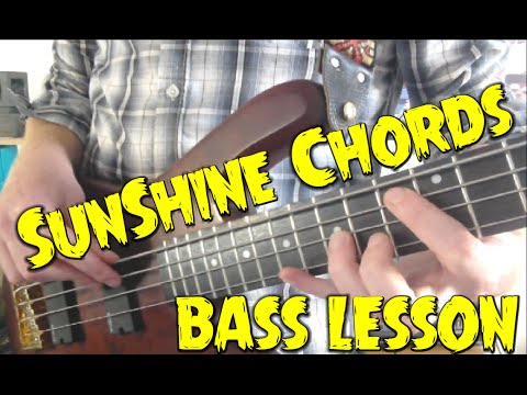 Sunshine Chords A Bass Lesson Everyday 362 Youtube