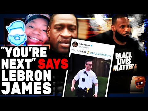 TheQuartering - Instant Regret! Lebron James BLASTED After Putting Hero Cop In Serious DANGER