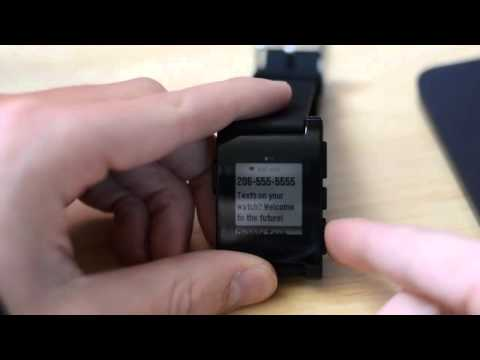 Pebble Smart Watch With Play Back Music