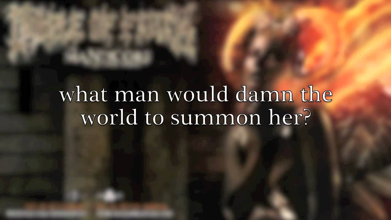 Cradle of Filth - Manticore (lyrics video) (from The Manticore And ...