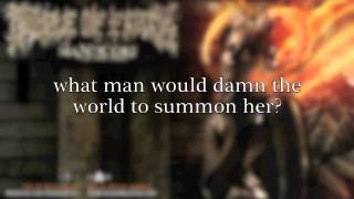 Cradle of Filth - Manticore (lyrics video) (from The Manticore And Other Horrors)