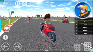 Paw Ryder Moto Racing 3D - Paw Racing Patrol Games - Android Gameplay