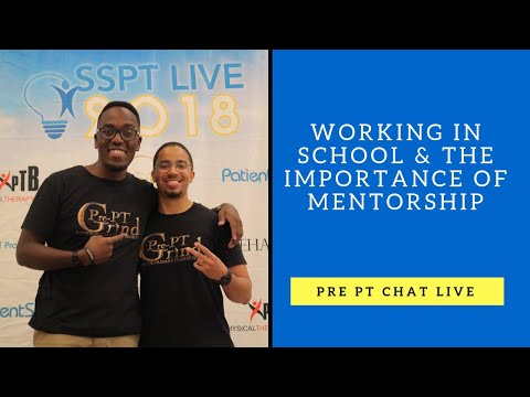Pre PT chat 6.21.17 Working in School & Mentorship