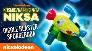 KOSMICZNA RECENZJA NIKSA | Miotacz baniek SpongeBoba | Nickelodeon Polska