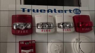 Demo af a new simplex 4007ES fire alarm control panel