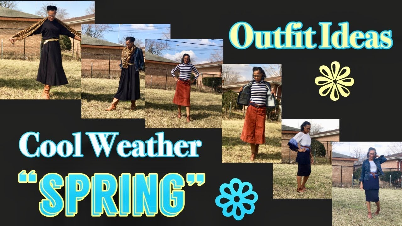 [VIDEO] - Modest Spring Outfit Ideas (Cool Weather) 7